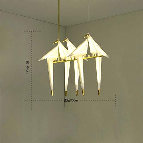 Uv-lampen moderne vogel lamp hanger lamp Nordic lamp hanglamp Origami kraan hanger plafondlamp woonkamer lamp bureaulamp hanglamp lamp_5_Head