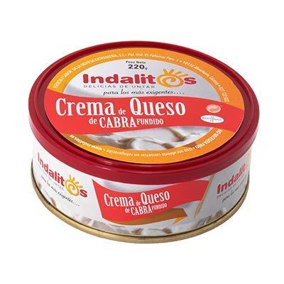 Indalitos - Crema de Queso de Cabra - Bandeja 5 Latas 220 g