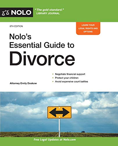 Compare Textbook Prices for Nolo's Essential Guide to Divorce Eighth Edition ISBN 9781413327663 by Doskow Attorney, Emily