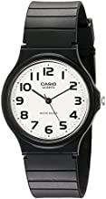 Casio Men's Classic Quartz Watch with Resin Strap, Black, 20 (Model: EAW-MQ-24-7B2)