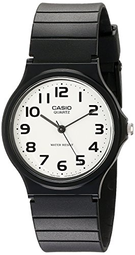 Our #6 Pick is the Casio Men's Classic Quartz Watch with Resin Strap