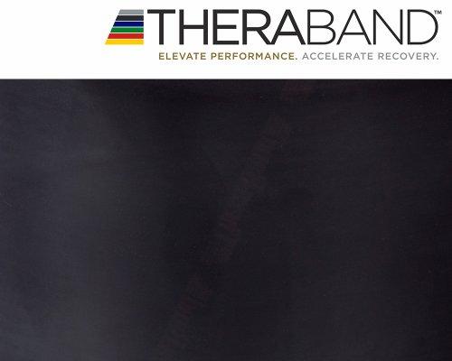 Thera-Band Original 2,5m schwarz + Original 24-seitiges Übungsbuch gratis