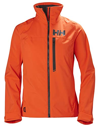 Helly Hansen HP Racing Midlayer Lifaloft Col Doublé Polaire Voile Marin Veste Imperméable Femme, Cherry Tomato, FR (Taille Fabricant : XS)
