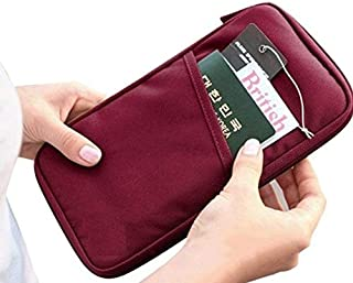 Rubik Multifunction Travel Passport holder, Tickets, Boarding Card, Credit ID Card & Document Organizer Zipper Case Bag, W...