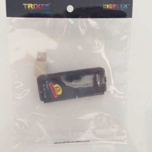 Mini Hub USB 2.0 a 4 porte sottile e compatto con cavo splitter per computer portatile