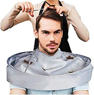 Sumai Cleaning Barber Adult Hair Coloring Cloak Salon Foldable Umbrella Cape Hair Cutting Apron