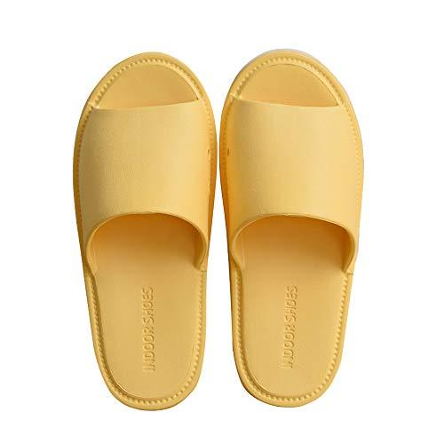 TFENG Herren Pantoffeln, Unisex Hausschuhe Indoor Hause Slippers, House Schuhe, 36 bis 45 EU