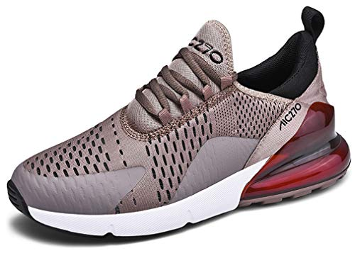 Solshine Unisex-ErwachseneMeshLaufschuheSneakersSportschuhe801 Khaki 40 EU