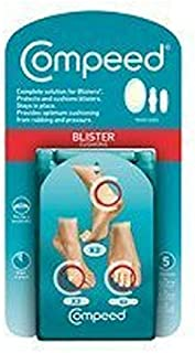 Compeed Blister Cushions, Extreme, 1 package of 5 pc