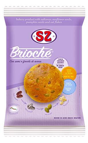 Sz - Senza Zucchero Brioché Con Semi E Avena - 200 Gr