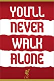 Liverpool FC Laminiert You'll Never Walk Alone Maxi Poster