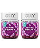 Olly Bedtime Beauty Sleep Gummy! 40 Gummies Plum Berry Flavor! Formulated with Ceramides, Melatonin and L-Theanine!! Supports Sleep and Relaxation! Look and Feel Refreshed! Choose Your Pack! (2 Pack)