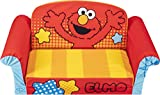 COMFY FOAM TODDLER COUCH: Give your little one their own exclusive lounging sofa with this perfectly sized compact flip-open couch with a fun & colorful design crafted from durable and comfy foam. EASY TO UNBOX: Sofa ships compressed in an airtight c...