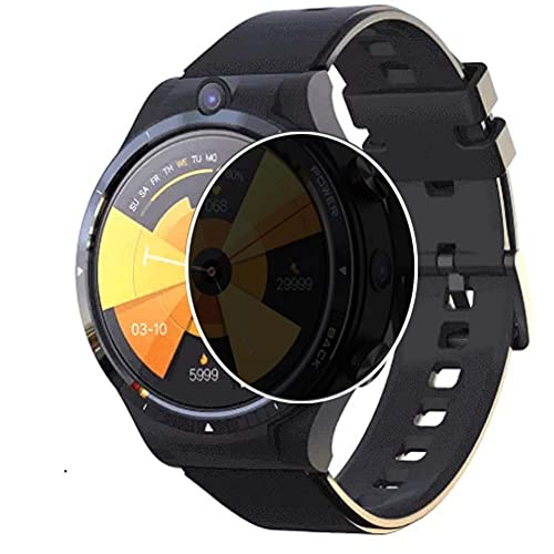 Puccy Privacy Screen Protector Film, compatible with LEMFO LEM 15 LEM15 smartwatch...
