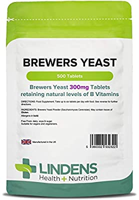 Brewers Yeast 500 Tablets 300mg