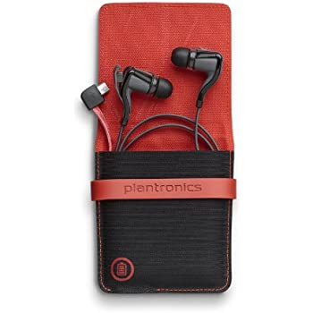 Amazon Com Plantronics Backbeat Go 2 Wireless Hi Fi Earbud Headphones With Charging Case Compatible With Iphone And Other Smart Devices Black