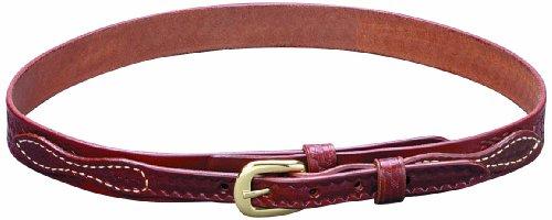 Triple K Ranger Basket Weave Belt, Walnut Oil, 36/1 1/4-Inch