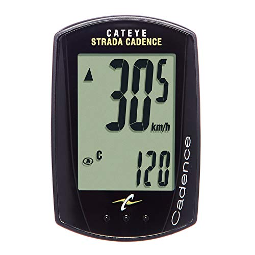 CatEye - Strada Cadence Wired Bike Computer For Road & Spin Bikes