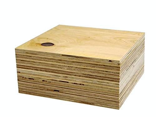 針葉樹合板(構造用合板) 厚み12mm 高耐水性 JAS F☆☆☆☆ 板材・コンパネ・合板 (250×250mm 9枚セット)
