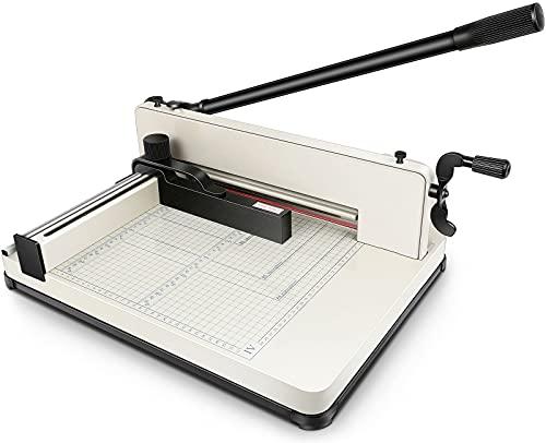 오피스 홈용 종이 스크랩 페이퍼 커터 17인치 중부품 500시트 A3 A4 B4 B5 A5 B6 B7 금속 베이스 길로틴 트리머