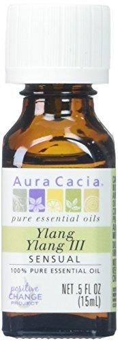 Aura Cacia 100% Pure Essential Oil Ylang Ylang - 0.5 fl oz