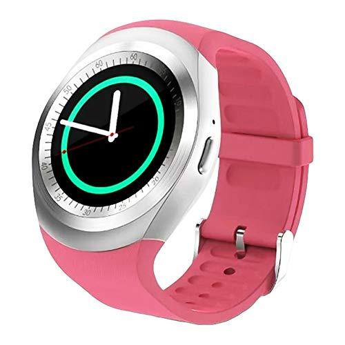 HNMLO Intelligente Uhr wasserdichte Bluetooth Smartwatch Y1 Android Smartwatch GSM-Telefonanruf SIM-Kamera Ferninformationsanzeige Sport-Schrittzähler