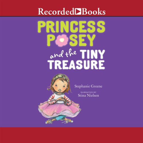 Princess Posey and the Tiny Treasure audiobook cover art
