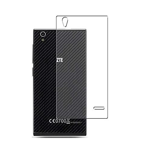 Vaxson 2 Stück Rückseite Schutzfolie, kompatibel mit Freetel LTE XM (FT142D) / ZTE Blade Vec 4G, Backcover Skin TPU Folie Haut [nicht Panzerglas Bildschirmschutzfolie Hülle Hülle ]