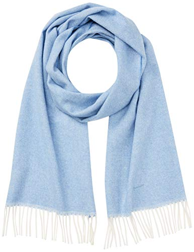 GANT Damen O1. Oxford Weave Scarf Schal, Blau (Hamptons Blue), One size