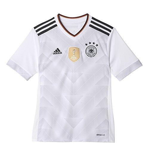 adidas Kinder DFB Heim Trikot, White/Black, 176