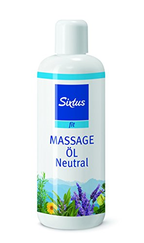 Sixtus F3617 Massage Öl Neutral, 1er Pack (1 x 500 ml)