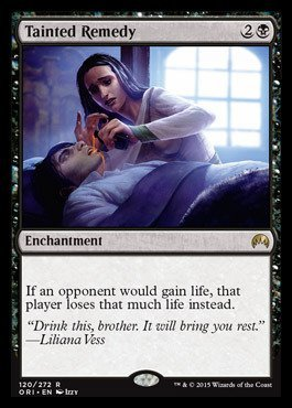 Magic The Gathering - Tainted Remedy (120/272) - Origins