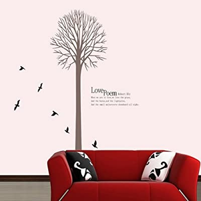 Wall Stickers Decal Decor Home Decor Removable Wall Sticker Vinyl Art Mural Quote Kids Room Living Room Bedroom Office Store House Decoration