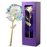 JOBOSI Violet Box Colorful Rose Flower Unique...
