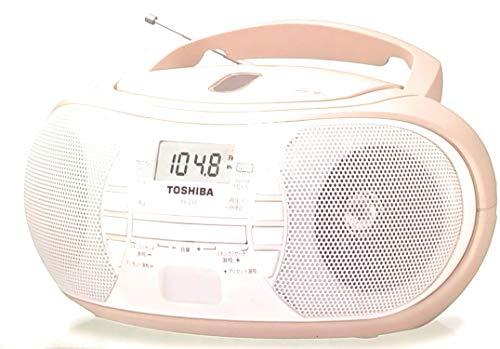 TOSHIBA 東芝 ワイドFM対応CDラジオ ベージュ TY-C11(C)