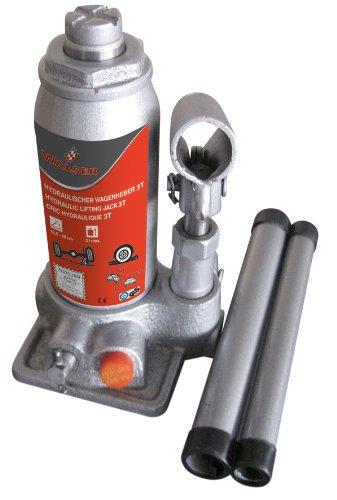 Walser 16333 Hydraulik Wagenheber 3000 Kg, Silber