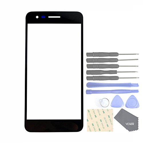 VEKIR Repuestos de teléfonos celulares para LG K4 2017 M160 Phoenix 3 Vaso Pantalla Panel[No LCD,No Touch Function]