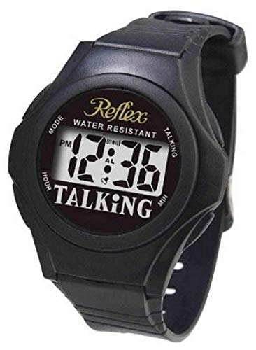 Reflex - Water Resistant Digital Display Unisex Talking Watch Talk01