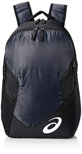 ASICS Unisex-Erwachsene Edge Ii Backpack Rucksack, Marineblau/schwarz, Einheitsgröße