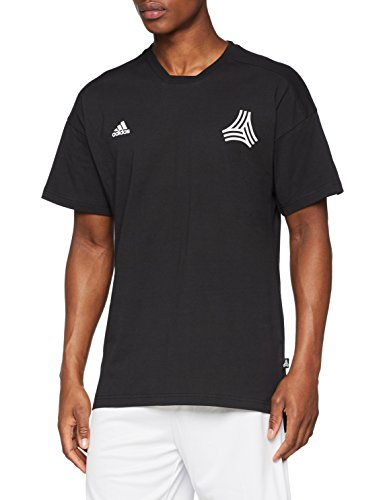 adidas Tan Symbol - Maglietta da Uomo, Uomo, T-Shirt, CE4900, Nero, M