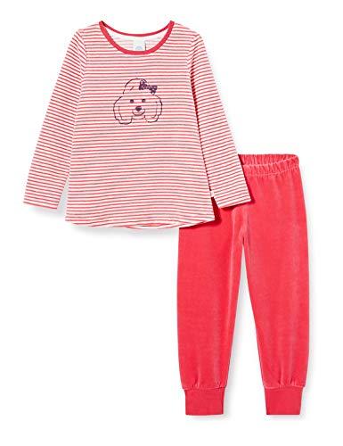 Sanetta Mädchen Schlafanzug Camellia Rose Pyjamaset, rosa, 116