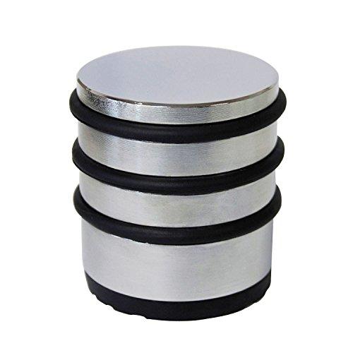 SECOTEC V105A020S787 Bodentürpuffer freistehend rund/zylindrisch | 1,5 kg | Edelstahl matt | 1 Stück