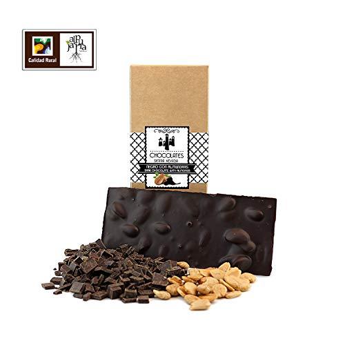 Chocolate negro artesano con almendras