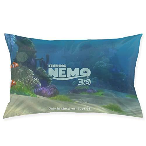 Finding Nemo - Funda de almohada de fácil cuidado, lavable a máquina, 50 x 70 cm