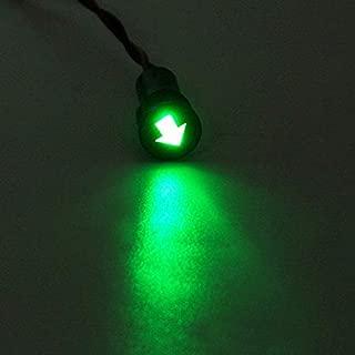 10mm Voiture Bateau LED Indicateur Tableau de bord Voyant Signal Ampoule Lampe