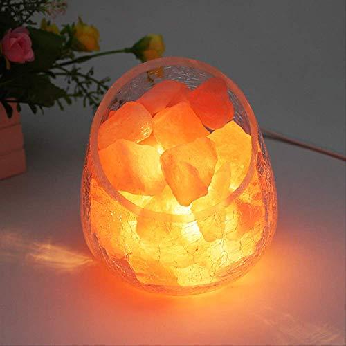 Preisvergleich Produktbild Salzkristalllampe Salz Lampe Led Nachtlicht Himalaya Wohnkultur Usb Nacht Lampe Nacht Schlafzimmer Lampe Kinder Babywohnzimmer Sensor Led Licht