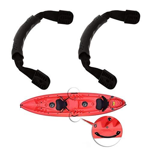 Manico per Kayak Canoa Maniglie per Kayak Maniglie per Il Trasporto Manico per Canoa per Kayak Maniglie per Kayak per Valigie Elettriche Manico di Ricambio Accessori per Attrezzi da Barca 2 Pezzi