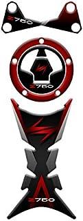 Bandiera Italiana con Il Logo Mio Vespa in Bersaglio Blu per Vari Modelli Vespa by MioVespa Collection Corno della Tua Vespa Logo Frontale sovrapposto 3D Cupola per Il Distintivo Anteriore