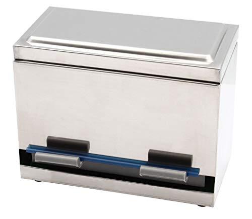 2Fold Supply Stainless Steel Straw Dispenser