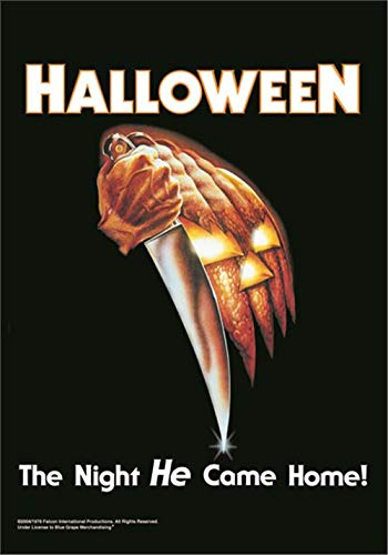 HALLOWEEN - THE NIGHT HE CAME HOME POSTERFLAGGE